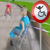 игра Скачки 3D инвалидной коляске