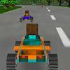 игра 8 бит 3D гоночных