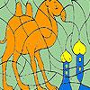 игра Только верблюдов в пустыне окраску