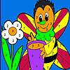 игра Только мед пчелы окраску