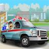 игра Водитель грузовика скорой помощи