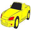 игра Удивительно быстрый автомобиль раскраски