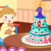 игра Babys первый торт