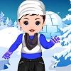 игра Срна ребенка зимой одеваться