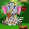 игра Baby слон аварии Уход