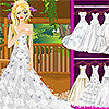 игра Красивое свадебное платье вверх