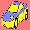 игра Лучший и быстрый автомобиль окраску