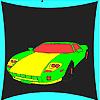 игра Лучший спортивный автомобиль окраски
