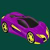 игра Лучший класс гоночный автомобиль окраску