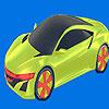 игра Лучший автомобиль окраску