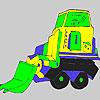 игра Большой грузовик окраску