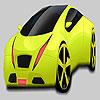 игра Большой Фисташковый зеленый автомобиль раскраски