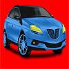 игра Большой синий концепт автомобиля окраску