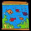 игра Большой аквариум и красочные рыбы колорит