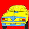 игра Большой Западный колесо автомобиля окраску