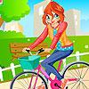 игра Блум Девушка велосипедов
