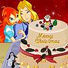 игра Блум Sky Рождественский торт