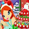 игра Блум Рождественский торт