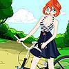 игра Мода Блум велосипедов
