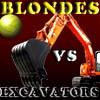 игра Блондинки против экскаваторы