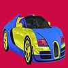 игра Яркие окраски автомобиля два цвета