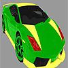 игра Яркие красочные автомобиля окраску