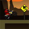 игра Каньон мотоциклист