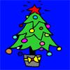 игра Christhmas дерево окраски
