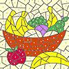 игра Классический фруктов корзины окраски