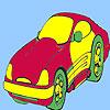 игра Понятие стиль автомобиля окраску