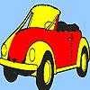 игра Концепция, лучший автомобиль будущего окраски