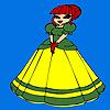 игра Милая маленькая принцесса окраски