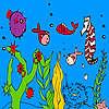 игра Глубоководные рыбы и морской конек колорит
