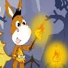 игра Свет огня осла