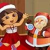 игра Дора с Dressup Санта