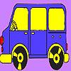 игра Карлик автобус окраску