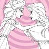 игра Эльза и Анна, замороженные окраски