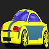 игра Быстрый правит автомобиль раскраски