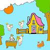 игра Farm and horses coloring