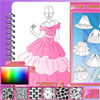 игра Студия моды - принцесса платье дизайн