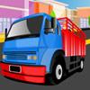 игра Фабрика грузовик парковка