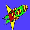 игра Быстрый ракета в пространстве окраску