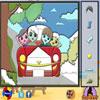 игра Семейный отдых - пиксель патч