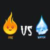 игра Огонь против воды