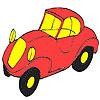 игра Первый красную окраску автомобиля