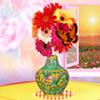 игра Цветочная ваза украшения