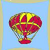 игра Летающий шар окраски