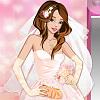 игра Цветочная державой свадебное платье вверх