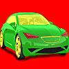 игра Полная скорость автомобиля окраску