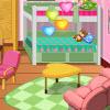 игра Украшение комнаты общежития девочек